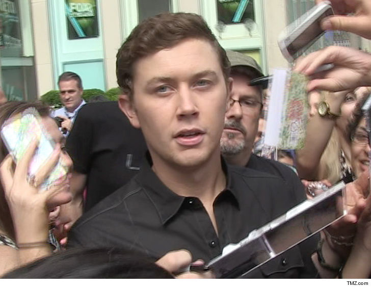Scotty McCreery explains gun incident at Raleigh-Durham International Airport