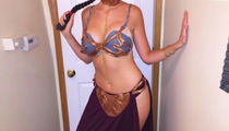 Guess the Celebrity Princess Leia in the Sexy Slave Costume!
