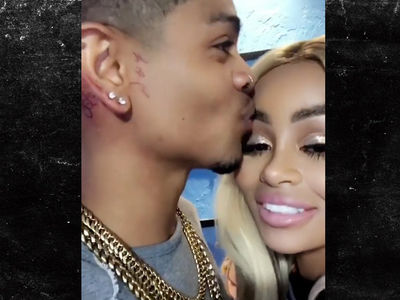 Blac Chyna Flaunts New BF After He Gets Her Initials Tattooed On Him