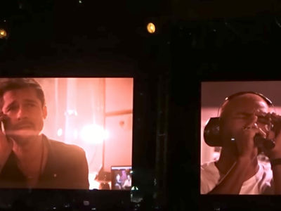 Brad Pitt Inspires Frank Ocean Performance at FYF Fest