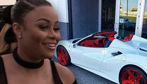 Blac Chyna Buys A New Ferrari