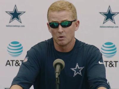 Cowboys Coach Jason Garrett: We Might Cut Lucky Whitehead