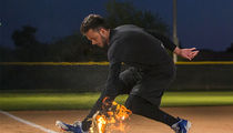 Kris Bryant Stops Flaming Baseballs in Fiery Infield Sesh