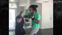 Wiz Khalifa's Getting Serious About MMA Training