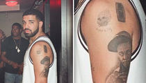 Drake Has Lil Wayne's Face Tattooed On His Arm