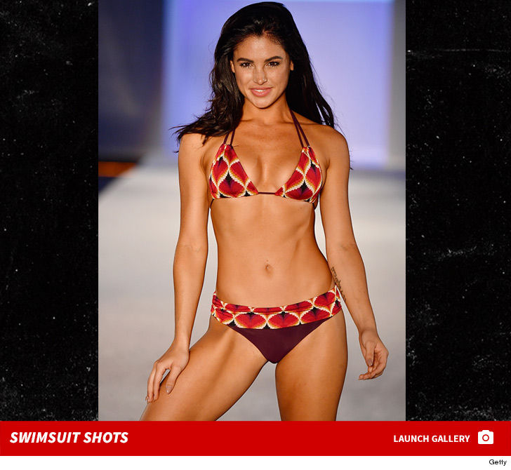 SI Swimsuit Models Slay South Beach In Tiny Bikinis