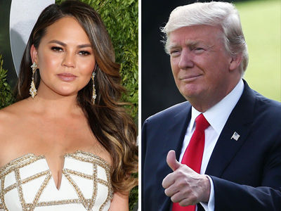 See What Chrissy Teigen Tweeted at Trump That Finally Made Him BLOCK HER!