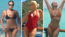 Hot Shots of Yolanda Hadid To Satisfy Your #WCW Needs ... Woah Mama!