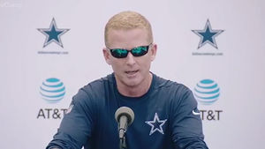 Jason Garrett Pulls a Marshawn Lynch at Lucky Whitehead Press Conference