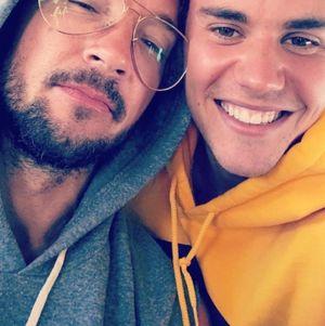 Justin Bieber and Carl Lentz -- Together Pics