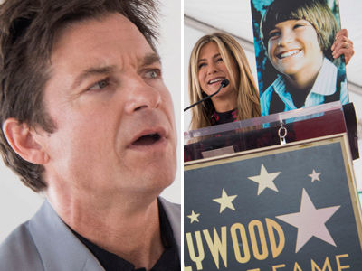 See How Jennifer Aniston ROASTED BFF Jason Bateman at Walk of Fame Star Ceremony