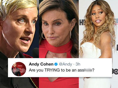 Ellen, Caitlyn, Laverne and More Just WENT OFF on Donald Trump for Trans Military Ban