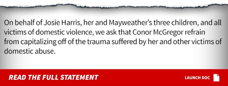 Floyd Mayweather's Ex Blasts McGregor: Domestic Violence Is Not a Joke