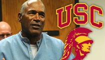 OJ Simpson Is Killer Non Grata At USC