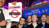 Live Nation Wants to Ban Bootleg Merch at Coldplay Concert