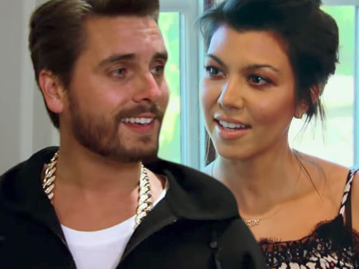 Kourtney Kardashian and Scott Disick are back on track