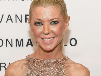 WHOA! Tara Reid Nearly Shows ALL By Going Braless In a Totally See-Through Dress