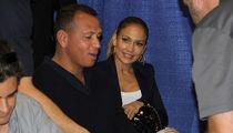 Alex Rodriguez Brings Jennifer Lopez to Work