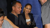 Jennifer Lopez Hangs Out with Alex Rodriguez at Sports Memorabilia Convention