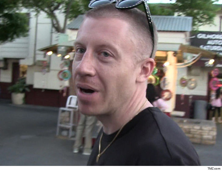 Macklemore Walks Away Unscathed From Head-On Collision
