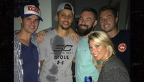 Steph Curry Crashes House Party, Chugs Bud Lights