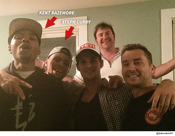 Stephen Curry And Kent Bazemore Crashed A Random House Party