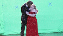 Liam Hemsworth and Rebel Wilson Swap Spit on 'Isn't it Romantic' Set