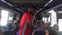 Yasiel Puig Crashes TMZ Tour, Meets MLB Legend Onboard!