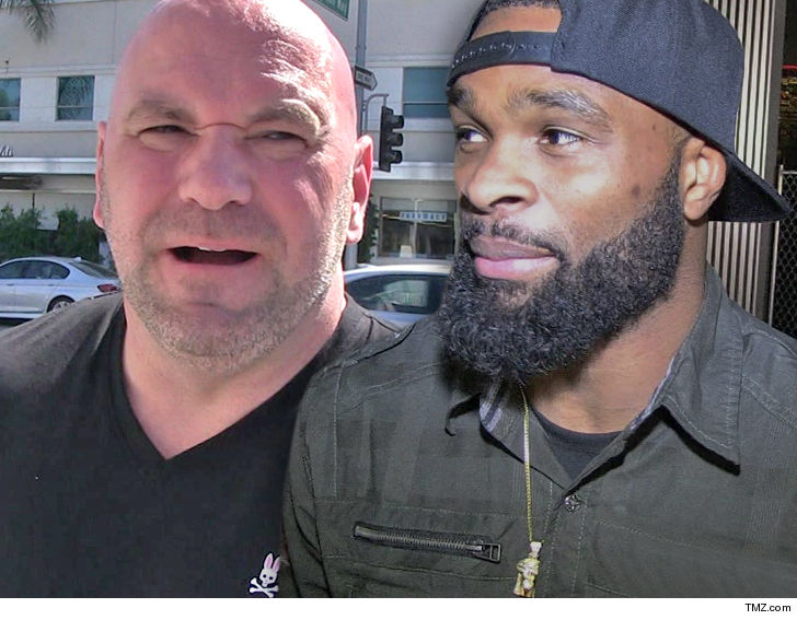 Tyron Woodley Dismisses Robbie Lawler, Says he Hid After Losing Title