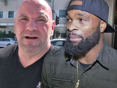 Dana White: Tyron Woodley and I Spoke, We're Cool Now