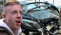 Macklemore's Destroyed Maybach Revealed in First Pics After Collision