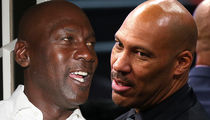 Michael Jordan Fires Back at LaVar Ball: 'He Couldn't Beat Me If I Was 1-Legged'