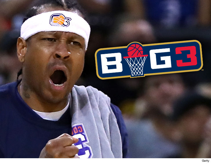Allen Iverson managed to get suspended in BIG3