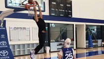 Ben Simmons Crushes Alley-Oop from 12-Year-Old with Cerebral Palsy