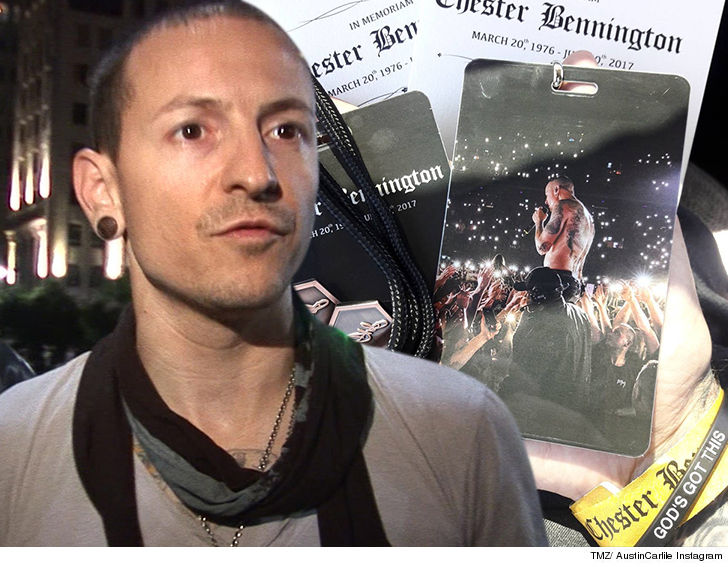 Chester Bennington Funeral Memorabilia Removed from eBay