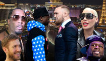 Mayweather vs. McGregor Pull Has A-List Talent Battling in Las Vegas Nightclubs