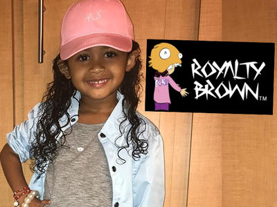 Chris Brown's Daughter Royalty Launching Kids Clothing Line!!!