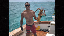 Tiger Woods: Shirtless, Ripped & Hunting Lobsters