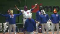 Cubs vs. Diamondbacks: Hilarious Rain Delay Dance-Off!!