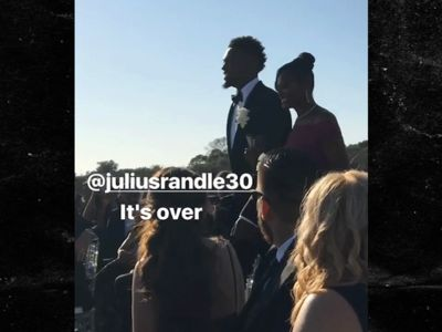 Nick Young Gets Hilariously Emotional at Julius Randle's Wedding