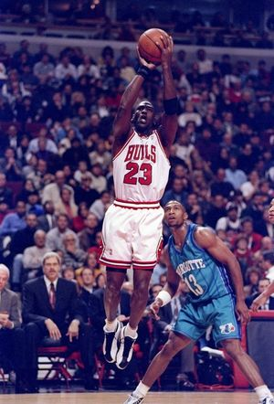 Michael Jordan -- On the Court