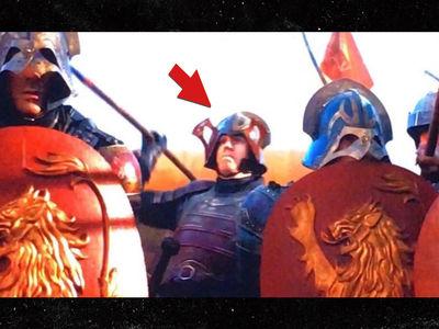 Mets' Noah Syndergaard Slays Dothraki in Epic 'Game of Thrones' Cameo