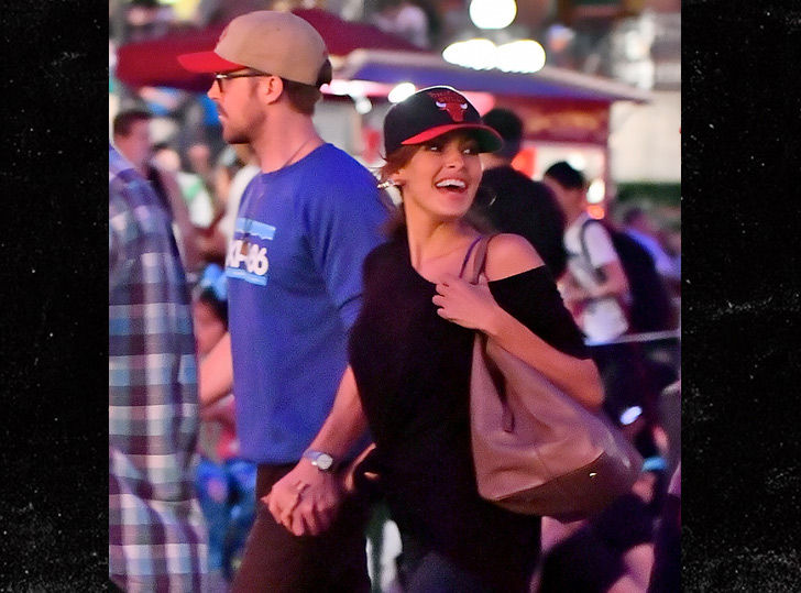 Ryan Gosling and Eva Mendes Have Disneyland Date Night