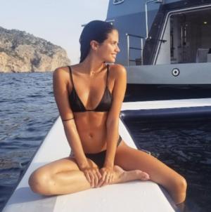 Sara Sampaio Hot Vacay in Spain