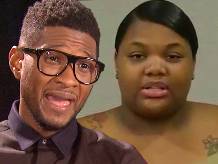 Usher, I Didn't Sleep With That Chick, She's Not My Type
