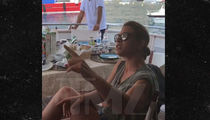 Jillian Michaels Argues with Crew Aboard Yacht in Italy