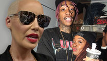 Amber Rose Lawyering Up for Restraining Order Against Wiz Khalifa's Mom