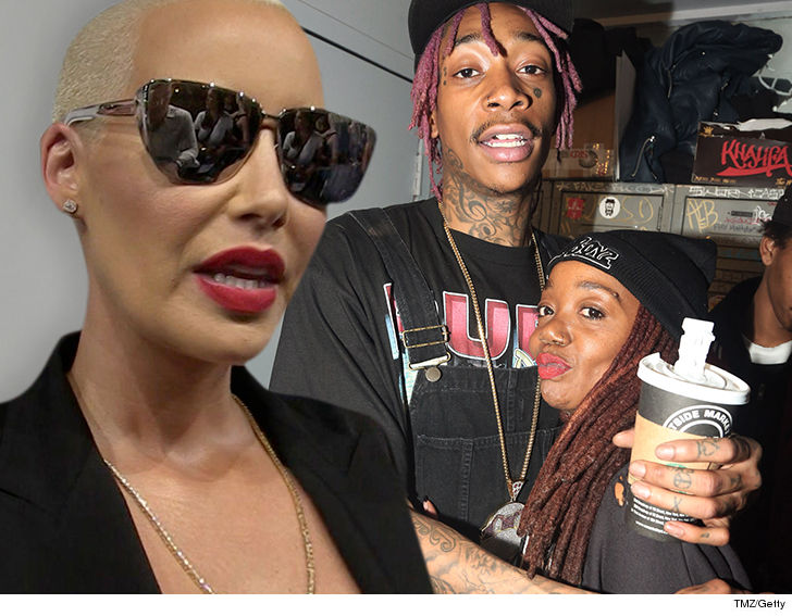 Wiz Khalifa's Mom Sues Ex Daughter-In-Law Amber Rose for Defamation