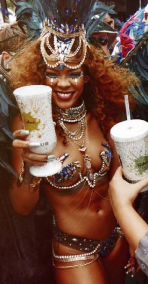 Rihanna's Carnival Hot Shots
