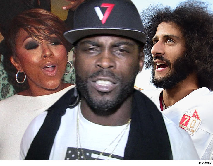 Mike Vick's Wife Hits QB With Sex Ban Over Kaepernick Afro Comments